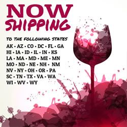 Thistle Meadow Winery is now shipping to select states!